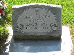 Jewel <i>Heaton</i> Aarons