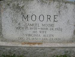 Virginia Walton <i>Allen</i> Moore