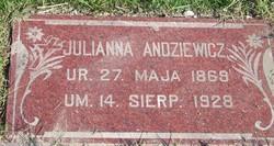 Julianne <i>Yunker</i> Andziewicz