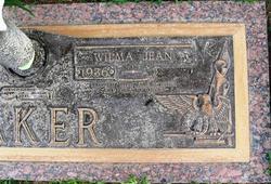 Wilma Jean <i>Hubbard</i> Baker