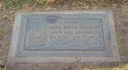 Alice Delenna <i>Dixon</i> Andrews