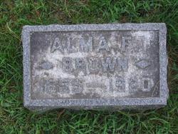 Alma F. Brown