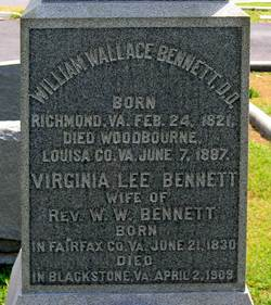 Virginia Lee <i>Sangster</i> Bennett