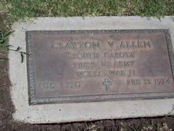 Clayton V Allen