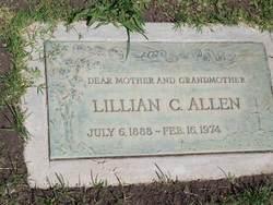 Lillian C <i>Salway</i> Allen