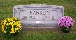 Verla Ustina <i>Runser</i> Franklin