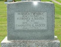 Florence Agnes <i>Kidder</i> Twombly