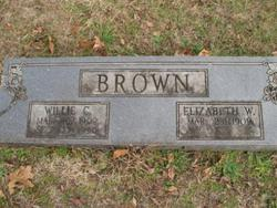 Mrs Elizabeth <i>Wells</i> Brown