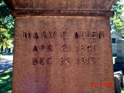 Mary Ellen <i>Sayre</i> Allen