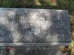 Alberta Burch Bacon