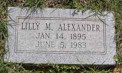 Lilly Myrtle <i>Finley</i> Alexander