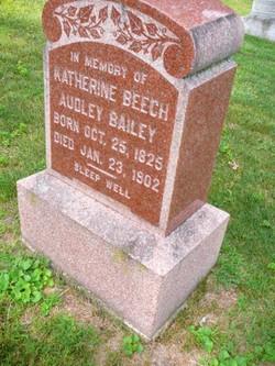 Katherine Beech <i>Audley</i> Bailey