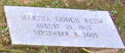 Martha Monnie <i>Gooch</i> Best