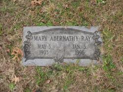 Mrs Mary <i>Sanders</i> Abernathy-Ray
