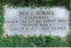 Bennie Calvin Forbes