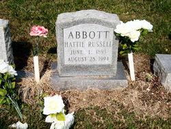 Hattie <i>Russell</i> Abbott