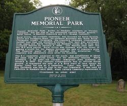 Pioneer Memorial Park Cemetery