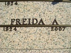Frieda A. Bruder