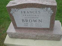 Franziska (Frances) <i>Schlemmer</i> Brown