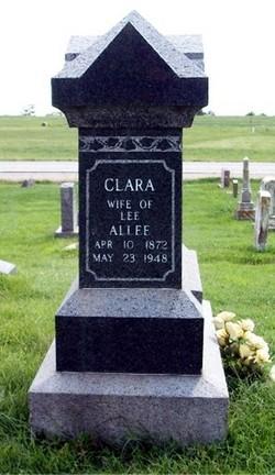 Clara G <i>Gray</i> Allee