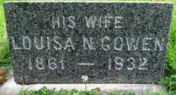 Louisa N. <i>Gowen</i> Bowen