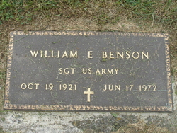 William E Benson