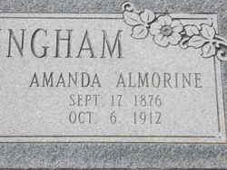 Amanda Almorine <i>McKenzie</i> Cunningham