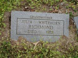 Julia Ann <i>Parker</i> Richmond