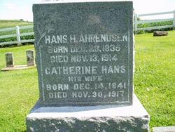 Catherine <i>Hans</i> Ahrendsen