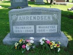 Magretha <i>Hansen</i> Ahrendsen