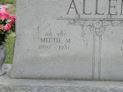 Mittie M. <i>Renegar</i> Allen