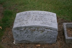 Alice <i>Milliman</i> Eberstein