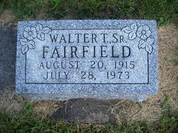 Walter Thomas Fairfield, Sr
