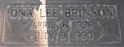 Ona Lee Brinson