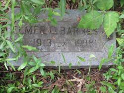 Elmer D Barnes