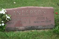 Florence B. <i>Wells</i> Anderson