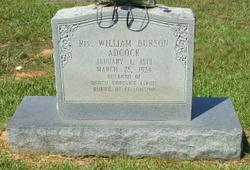 Rev William Burson Adcock