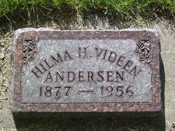 Hilma H <i>Holmgren</i> Andersen