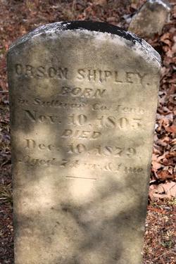 Orson Shipley