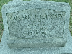Margaret <i>Hopkins</i> Courtney