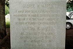 Martha Lee <i>Williams</i> Martin