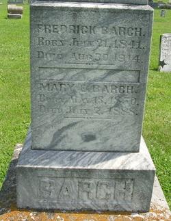Mary E <i>Crossley</i> Barch