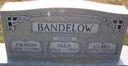 Clara Wilhelmine Bertha Bandelow