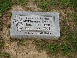 Lois Katherine <i>McPherson</i> Daniel