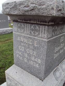 Annie E <i>Eagleton</i> Cox