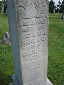 Amanda E. <i>Walker</i> Ball