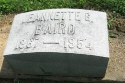 Jeannette <i>Gilliland</i> Baird
