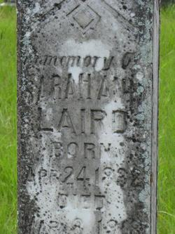 Sarah Ann <i>Long</i> Laird