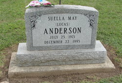 Suella May Suzee <i>Lucas</i> Anderson