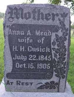 Anna Abigail <i>Mead</i> Cusick
